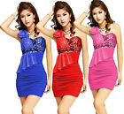 NEW Cheap~Graduation Pageant Bodycon Pencil Shiny Sequins Evening Party Dress GK