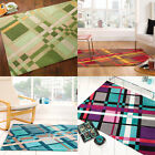 Flair Rugs Infinite Funky Plaid Handtufted Rug