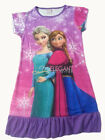 Disney Frozen Elsa Anna Enfants Filles Jupe Violet Pyjama Robe Girls Dress 3-10T