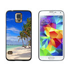Tropical Beach - Island Sky Clouds Vacation - Case for Samsung Galaxy S5
