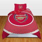 SINGLE FOOTBALL DUVET COVER BEDDING SETS - OFFICIAL - ARSENAL MAN U LIVERPOOL