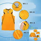 Men Basketball Athletic Fitness Workout Vest Jersey T-shirt +Shorts Sport Outfit