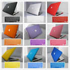 """2item Rubberized Hard Case Shell+Keyboard Cover For Macbook Pro 13/15 Air 11/13"""""""