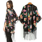 Summer Classy Lady Sexy Kimono Style Loose Shirt Blouse Open Top Coat T-Shirt JS