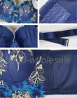 New hot sale 1 pc  Women Embroidered Underwired Side Support Plunge Push Up Bra