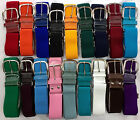 Elastic Adjustable Baseball Softball Belt Various Colors Youth Adult