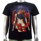Hot Naked Japanese Model Tattoo Lady Chinese Dragon Animal Mens T-shirt XL & XXL