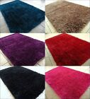 Shag Contemporary Area Rug Orange Blue Gray Black Brown Gold Green Pink Red New