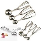 3 Size Stainless Steel Spoon for Ice Cream Mash Potato Food Scoop Kitchen Party