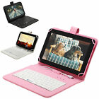 "iRULU 9"" Android 4.4 8GB Pink Tablet PC Quad Core & Camera WiFi w/ Keyboard"