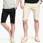 New Fashion Korean Stylish Mens Short Pants Capris Summer Cool Cropped Trousers