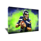 Seattle Seahawks RUSSELL WILSON Poster Photo Painting Artwork on CANVAS Wall Art on eBay