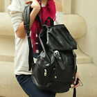 New Fashion Faux Leather Casual School Shoulders Bag Backpack Bookbags Satchel
