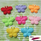 "(U Pick) Wholesale 40-480 Pcs. 1"" Padded Felt Furry Butterfly Appliques B0920"