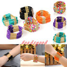 Retro Boho Candy Color Multilayer Tassel Beads Bohemian Chain Bracelet Bangle