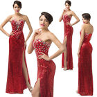 Mermaid Sexy Slim Evening Gown Prom Formal Party Bridal Bridesmaid Wedding Dress