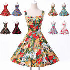 2014 Sale~ FLORAL Vintage Swing Work 50s 60s Retro Swing Prom Dresses