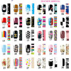 New NAIL WRAPS STICKERS - Full Self Adhesive Polish Foils Decoration Art Decals
