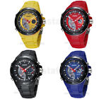 Cool OHSEN Numérique Dial Sports Silicone Bande Montre-Bracelet Watch Homme