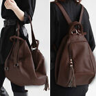 2014 New Women's Handbag Faux Leather Backpack Shoulder Bag School Tote Satchel