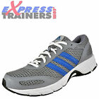 Adidas Mens Blueject Performance Running Shoes Trainers Fitness Grey *AUTHENTIC*
