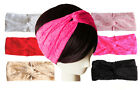Soft Lace Boho Twist Headband Head Wrap Knotted Turban FAST FREE USA SHIPPING