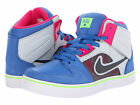 NIKE RUCKUS 2 HIGH LR GS GIRLS WOMENS SHOES GREY BLUE PINK 603275 SZ 4.5Y 5Y 6Y