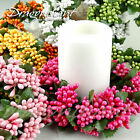 Artificial Flower Stamen Garland Wreath Christmas Wedding Table Decoration