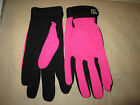 ssg ladies gloves all weather style# 8600 in pink in universal size.