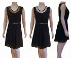 LADIES QUALITY COCKTAIL DRESS STRETCHY EMBELLISHED BODICE EMILY SIZE 20 TO 26