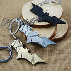 The Dark Knight Rises DC Comics Batman Logo Pewter 8.8 cm Metal Key Ring Chain O