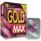 GoldMax Pink MAXIMUM STRENGTH Fast Acting Herbal Sex Pills Female Libido Booster