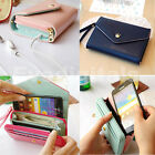 NEW LADIES CROWN PURSE CLUTCH & SMART WALLET POUCH CASE FOR IPHONE 4 4S & 5 S3 B