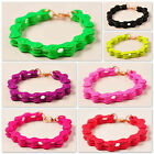 occident fashion hyperbole motorcycle bicycle chain Fluorescent color bracelet