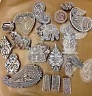 Indian Hand Carved Printing Blocks *OVER 60 DESIGNS*