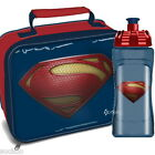 Superman Lunch Bag and/or Aruba Bottle Set School New Gift Man of Steel