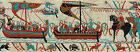 "Bayeux Tapestry Fabric Costume Trim Medieval Historical 3-1/8"" Non-Metallic 1066"