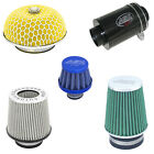Auto Silicone Hoses Single Twin Mushroom Mini Breather Carbon Airbox Air Filters