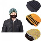 Men's Women's Winter Beard Mustache Beanie Knit Cap Balaclava Helmet Ski Mask