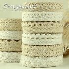 Dragonchant Exclusive Zakka Fabric Lace Washi Tape Cotton Ribbon Trim Stick on