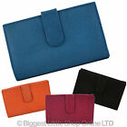 NEW Ladies LEATHER Medium PURSE/WALLET with Tab by MALA Classic Collection Gift
