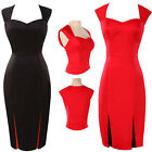 Faddish Women 40s 50s Vintage Slim Cocktail Evening Party Prom Dress Party Gowns