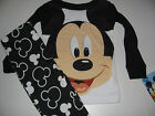 New Disney Mickey Mouse Toddler Boys 12m 18m 24m 3t 4t 5T pajamas
