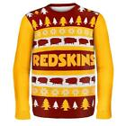 NFL Football 2014 Logo Ugly Christmas Sweater Wordmark Style - Pick Your Team!