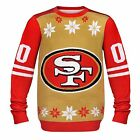 NFL Football 2014 Logo Ugly Christmas Sweater Jersey Style - Pick Your Team!
