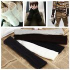 Fashion Winter Men's Women's Warm Knitted Fingerless Elbow Long Gloves Mitten