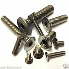 M10 (10mm) x 50mm A2 Stainless Socket Countersunk PART THREADED Allen Bolts