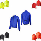 More Mile Mens Hohe Viz Reflective Laufsport Radsport Wind Water Resistant Jacke