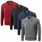 Mizuno Hayate V Neck Sweater - Mens Wind Resistant Lined Pullover Top (warmlite)