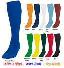 Mens Youths Plain Football Team Socks Training Knee Club Sports Boys Adults